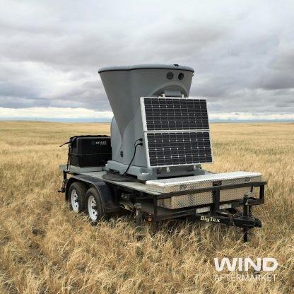 Triton Sodar on trailer in field