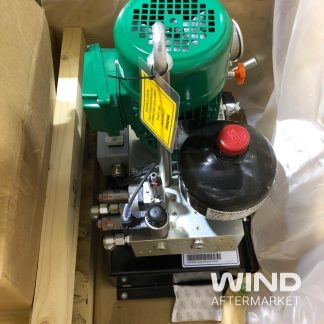 ge wind turbine hydraulic power unit in crate