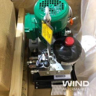 ge wind turbine hydraulic power unit in crate